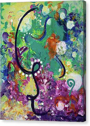 Loose Ends Canvas Print by Joannie Eastridge