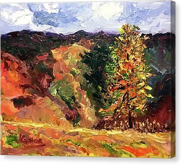 Loose Landscape Canvas Print