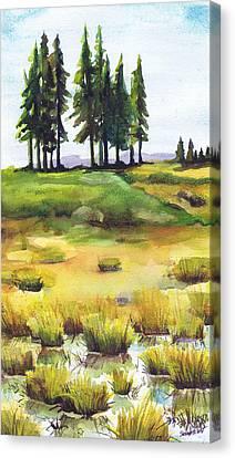 Lopaus Point Maine Canvas Print