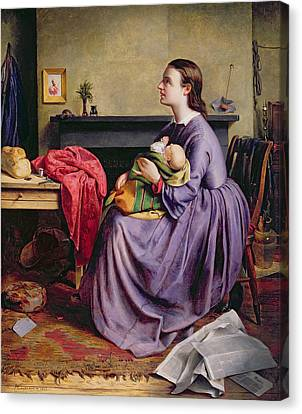 Lord - Thy Will Be Done Canvas Print by Philip Hermogenes Calderon