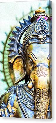 Lord Ganesha Canvas Print by Tim Gainey