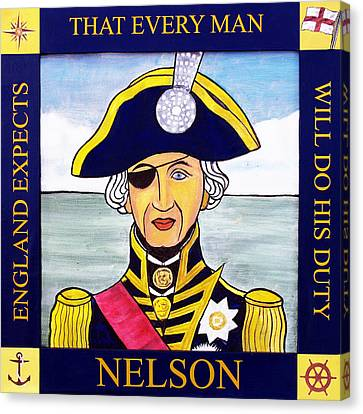 Lord Admiral Nelson Canvas Print - Lord Nelson by Paul Helm