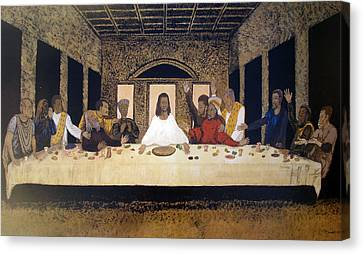 Lord Supper Canvas Print