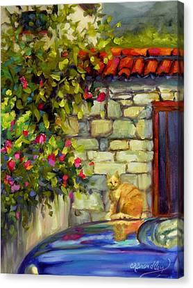 Lorenzo Canvas Print by Chris Brandley