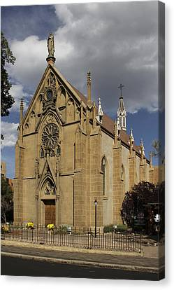 Loretto Chapel - Santa Fe Canvas Print by Mike McGlothlen