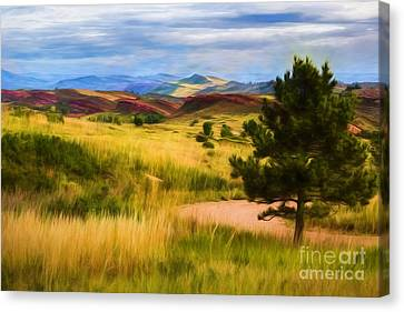 Lory State Park Impression Canvas Print by Jon Burch Photography