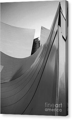 Los Angeles Disney Concert Hall 31 Canvas Print by Micah May