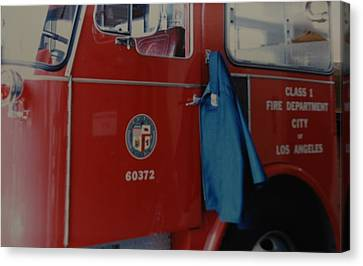 Los Angeles Fire Department Canvas Print by Rob Hans