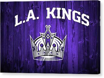 Los Angeles Kings Barn Door Canvas Print