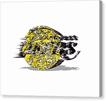 Los Angeles Lakers 6a Canvas Print by Brian Reaves