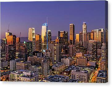 Los Angeles Twilight Canvas Print