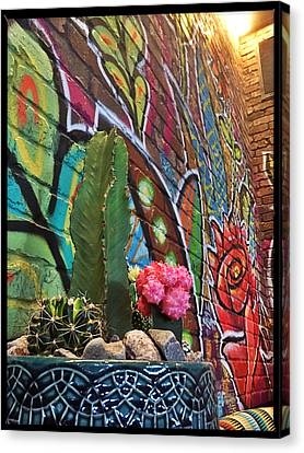 Los Cactus Canvas Print by Tamara Lee Madden
