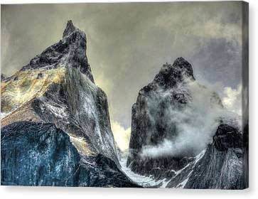 Los Cuernos-the Horns Canvas Print