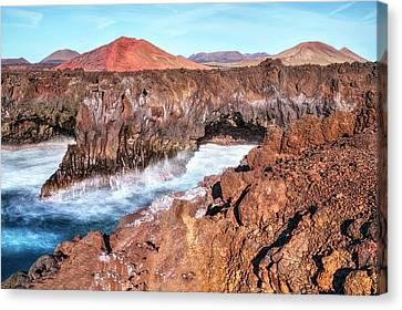 Lanzarote Canvas Print - Los Hervideros - Lanzarote by Joana Kruse