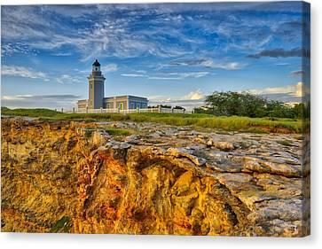 Los Morillos Lighthouse - Los Morillos - Cabo Rojo - Puerto Rico Canvas Print