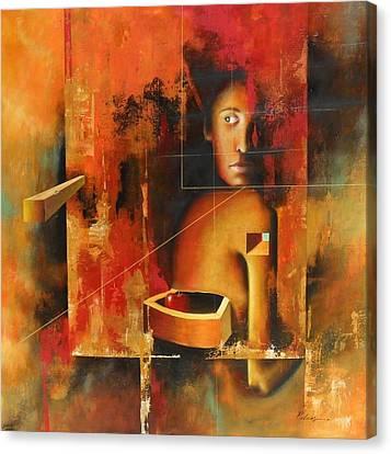 Los Secretos Canvas Print by Santiago Polvos