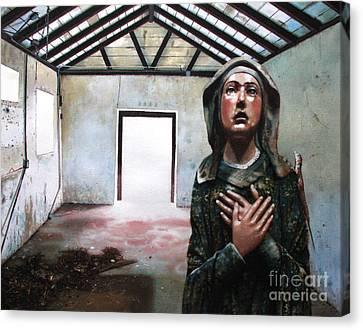 Losing My Religion Canvas Print by Denny Bond