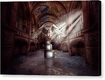 Losing My Religion Canvas Print by Nathan Wright