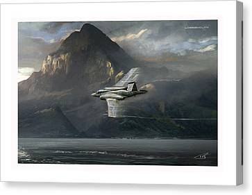 Lossiemouth Canvas Print by Peter Van Stigt