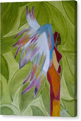 Lost Angel Canvas Print by Elizabeth Ribet