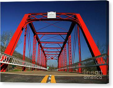 Lost Bridge Canvas Print