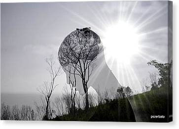 Lost Connection With Nature Canvas Print