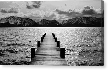 Lost In Lake Tahoe Canvas Print by Brad Scott