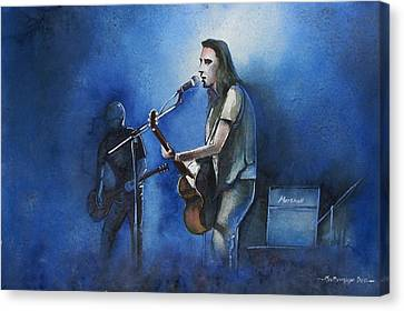 Lost In Singing Canvas Print