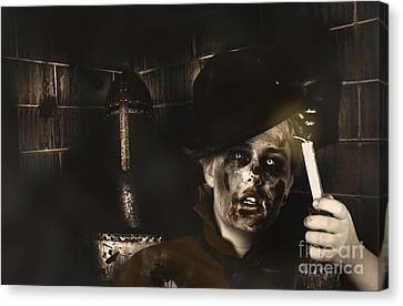 Lost In The Dark. Death Becomes You Canvas Print by Jorgo Photography - Wall Art Gallery