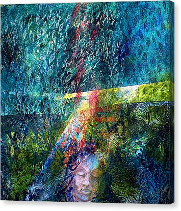 Lost In The Woods Canvas Print by Sue Reed