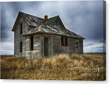 Abandoned House Canvas Print - Lost In Time 5 by Bob Christopher