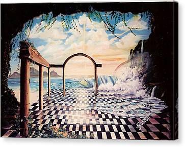 Lost In Time Canvas Print by Joan Gossett