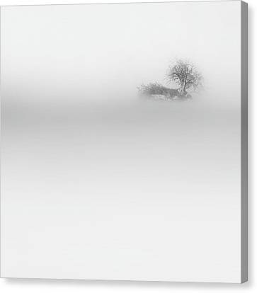 Lost Island Square Canvas Print by Bill Wakeley