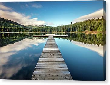 Canvas Print featuring the photograph Lost Lake Dream Whistler by Pierre Leclerc Photography