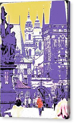 Lost Prague Canvas Print by Ira Shander
