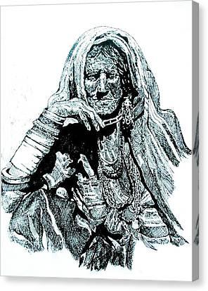 Lost Canvas Print by Ramneek Narang