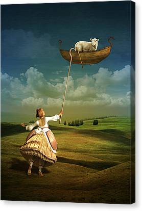 Lost Sheep Canvas Print