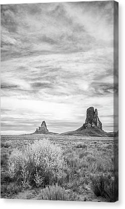 Lost Souls In The Desert Canvas Print by Jon Glaser