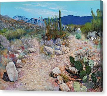 Lot For Sale Canvas Print by M Diane Bonaparte