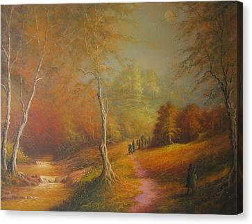 Lothlorien Canvas Print by Joe  Gilronan