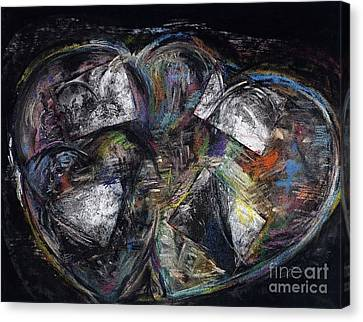 Lots Of Heart Canvas Print by Frances Marino