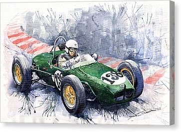 Lotus 18 F2 Canvas Print