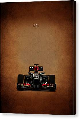 Lotus E21 Canvas Print