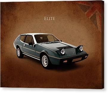 Lotus Elite 1974 Canvas Print by Mark Rogan