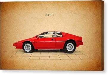 Lotus Esprit Canvas Print by Mark Rogan