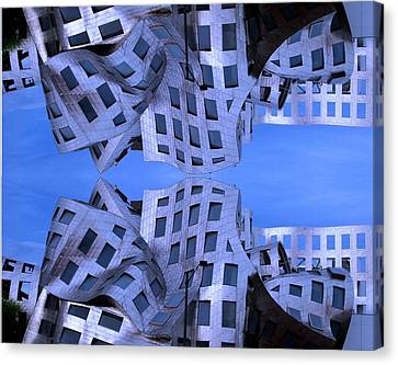 Canvas Print featuring the photograph Lou Ruvo Center Up And Down by Matt Harang