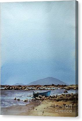 Lough Cullen And Nephin, Mayo Canvas Print