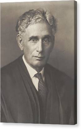 Louis Brandeis 1856-1941, Was Appointed Canvas Print by Everett