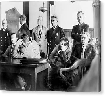 Louis Buchalter At Murder Trial, Louis Canvas Print by Everett