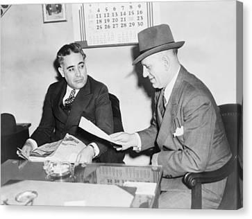 Louis Capone 1896-1944 Canvas Print by Everett
